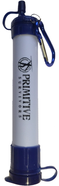 Primitive Survivors Water Filtration Straw